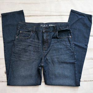The Children's Place Boy's Basic Straight Jeans